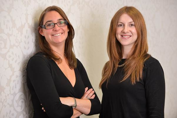 Tangerine PR: (l-r) Sally Martin, senior account director and Helena Reid, associate director