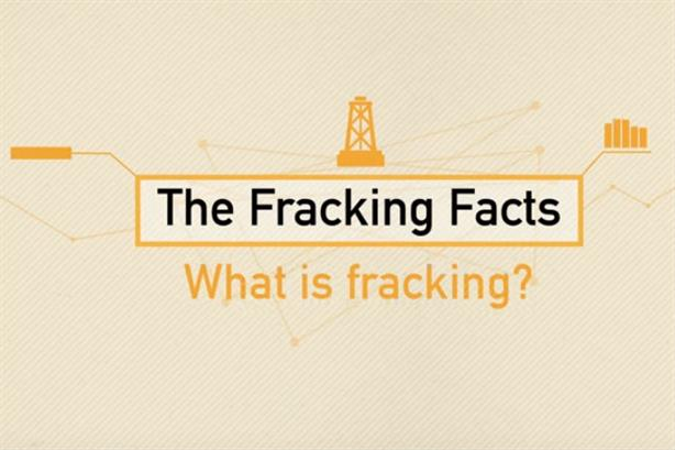 Fracking: A still from a video created to explain Ineos' activities