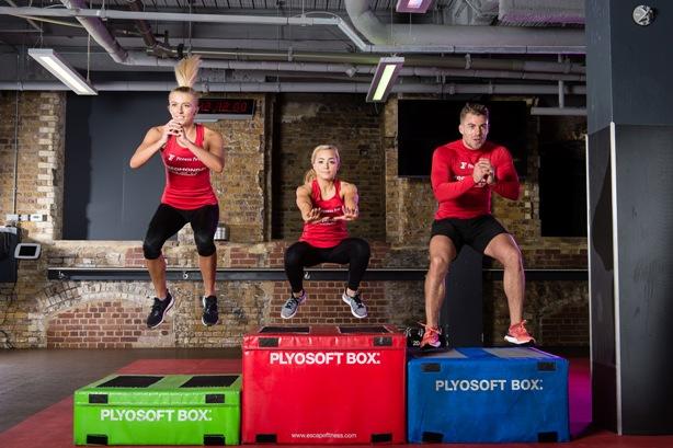 (l-r): Instagram fitness gurus Zanna Van Dijk, Clean Eating Alice and Bradley Simmonds