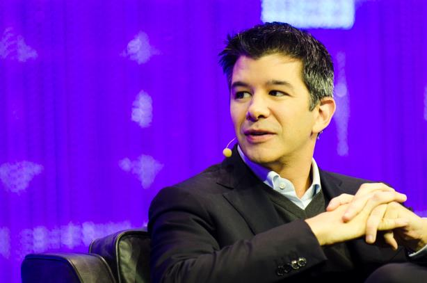 Kalanick speaking at the Le Web conference in December 2013. (Image via Wikimedia Commons, CC by 2.0, by Dan Taylor/Heisenberg Media)