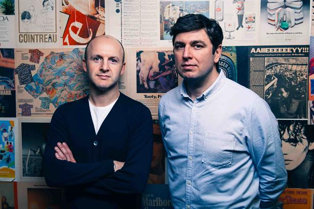 Best in class: Kaye (l) and Glover want to build the best agency in the UK
