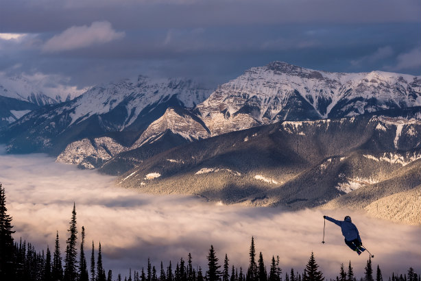 BC's Kicking Horse Mountain Resort (credit: Reuben Krabbe)