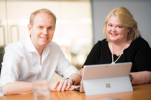 Harrison and Korving: health leadership pair