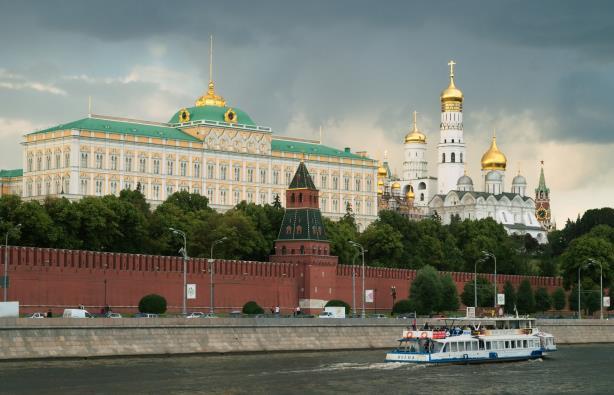 The Kremlin in Russia