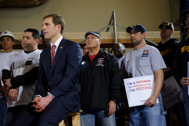 Democrat Conor Lamb is on the verge of an upset in a House special election in Pennsylvania. (Photo credit: Getty Images)