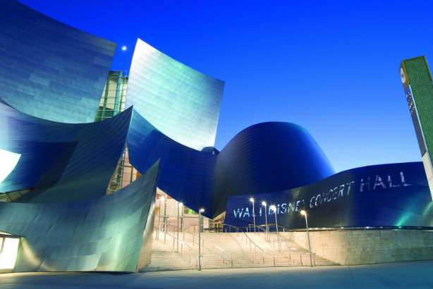 Singing its praises: The Walt Disney Concert Hall in LA