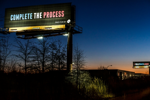 079c322542ab Philadelphia company uses billboards in Cleveland to draw LeBron ...