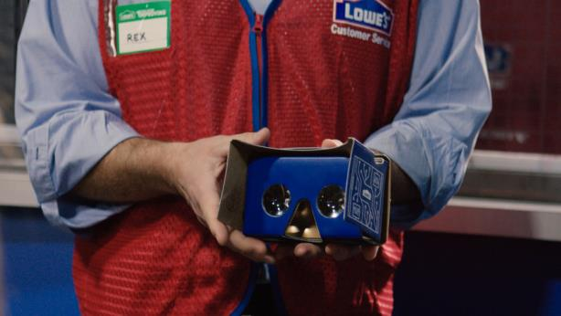 Lowe's launched its Lowe's Vision VR project last month.