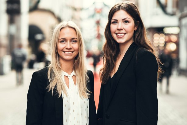 Josefine Hedlund (l) Anna Karlsson are co-founders at Manifest Stockholm