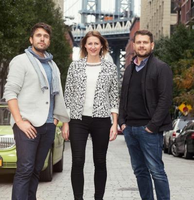 Manifest team (l to r): Alex Myers, Ali Maynard, Neil Hallmark