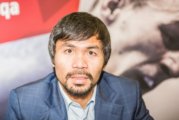 Pacquiao: A blow to his reputation? (Credit: Boxing AIBA via Flickr)
