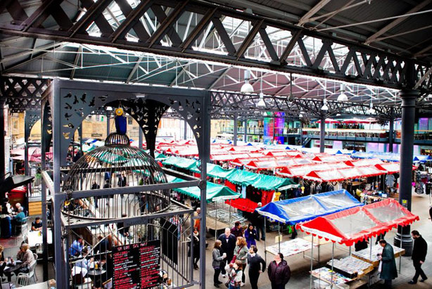 Old Spitalfields Market: Now working with Threepipe