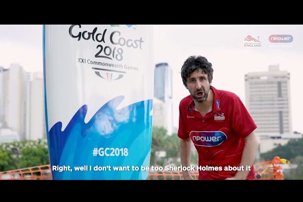 Commonwealth campaign: Bristolian comic Mark Watson works with npower