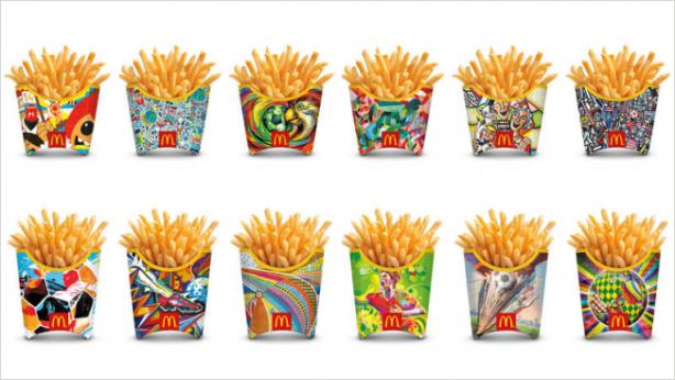 McDonald's World Cup branding