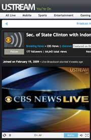 CBS News takes interactivity to a new level by linking with