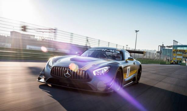 The Mercedes-AMG GT3