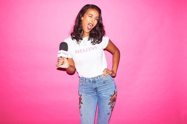 Maya Jama hosts the 'When Life Gives You Melons' podcast
