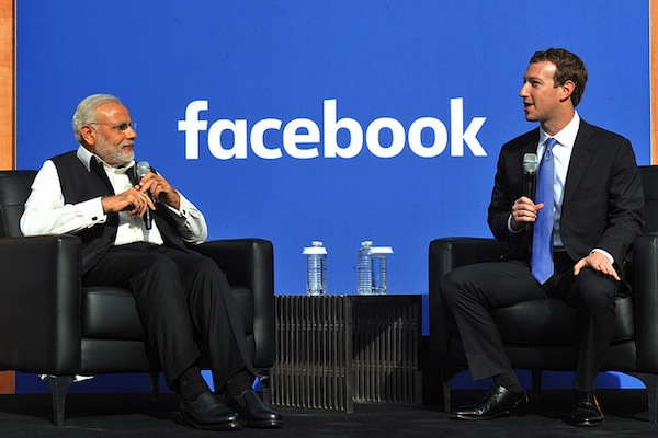 Narendra Modi is the most active Asian political leader on Facebook (Narendra Modi)