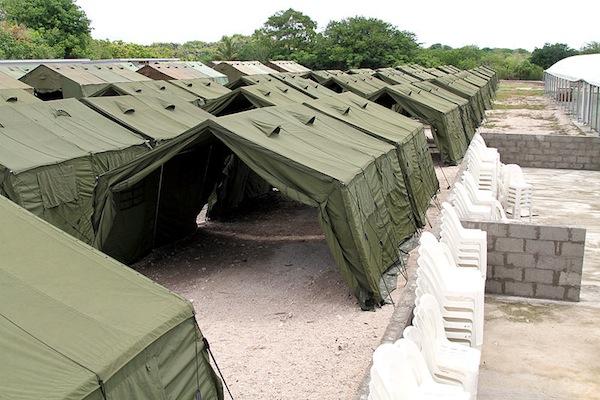 The Nauru regional processing facility (DIACimages/Wikimedia Commons)