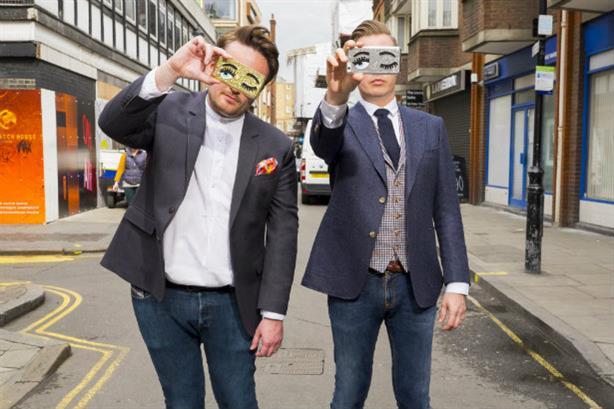 Talker Tailor founders Steve Strickland (left) and Gary Wheeldon