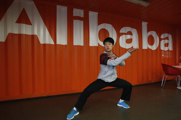 Alibaba has come out fighting