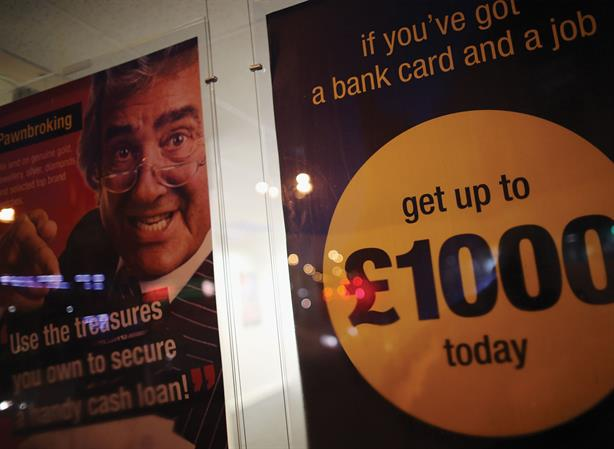 Quick cash: Payday lenders have been accused of being irresponsible