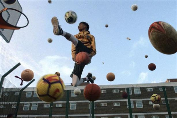 """Nothing Beats a Londoner for Nike """"makes me proud of London"""", said one judge"""