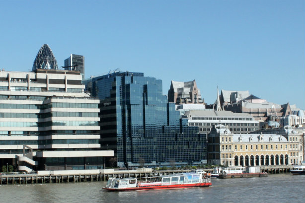 The London HQ of Northern & Shell, the Express' owner (Credit: Mark Kent via Flickr)