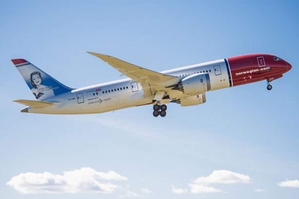 Norwegian's 787 Dreamliner: Low-cost airline opens press office following UK growth