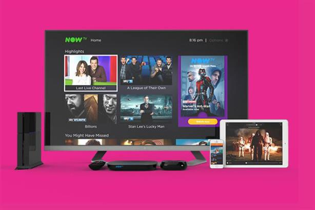 Now TV allows users to watch paid-for programmes without a contract