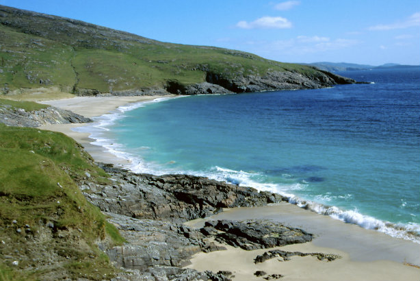 Mingulay Bay Beach in the Western Isles, part of the NTS portfolio