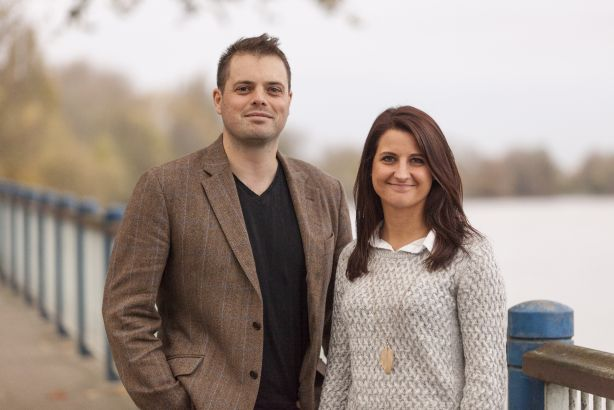 Alex Pearmain and Katie Buckett: Have launched OneFifty