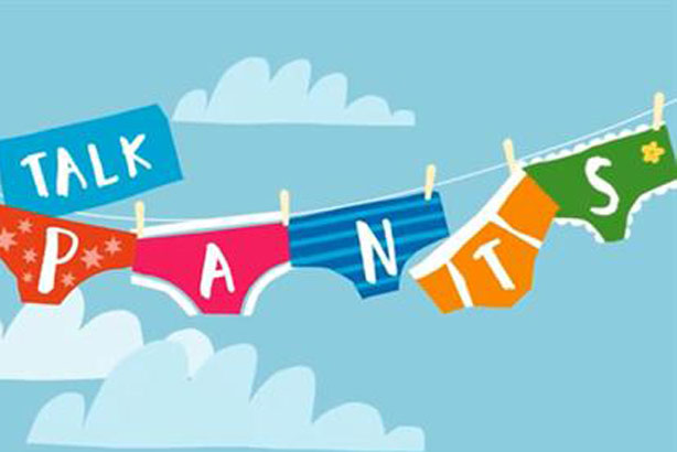 Talk Pants: Part of the NSPCC's The Underwear Rule campaign
