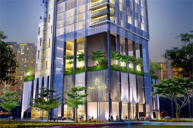 Artists impression of The Park Hotel Farrer Park