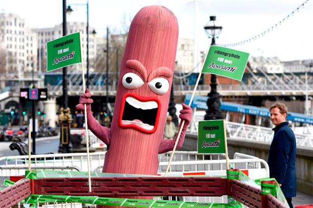 Peperami gives London a mass porking in new campaign