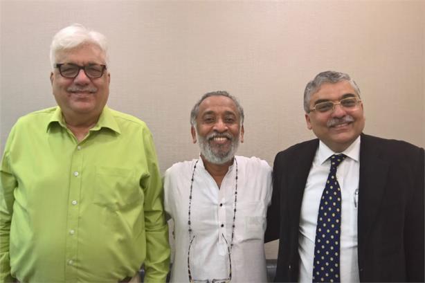 L-R: Kewalramani, Cherian, Bhasin