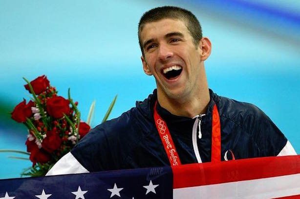 (Image via Michael Phelps' Facebook page).