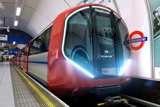 An image of the future stock for the Piccadilly line (Credit: Transport for London)