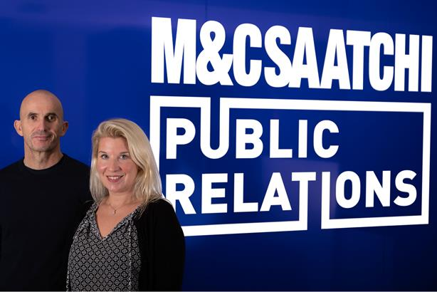 Dropping 'PR': Chris Hides and Molly Aldridge of M&C Saatchi Public Relations