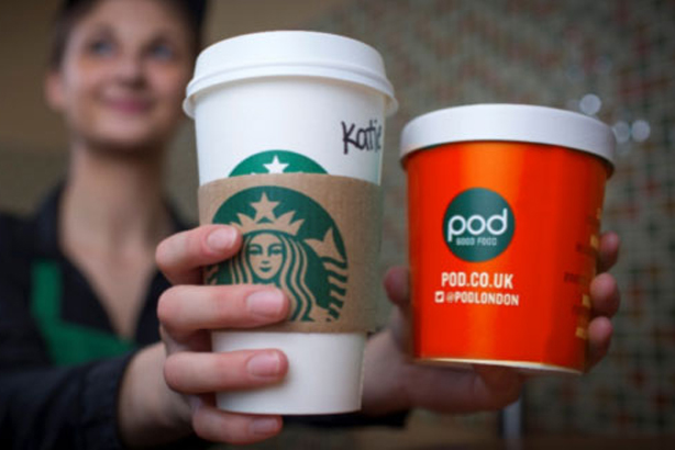 Pod: Formed partnership with Starbucks