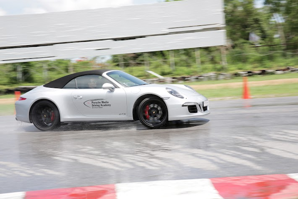 Full throttle: Journalists spent the day behind the wheel
