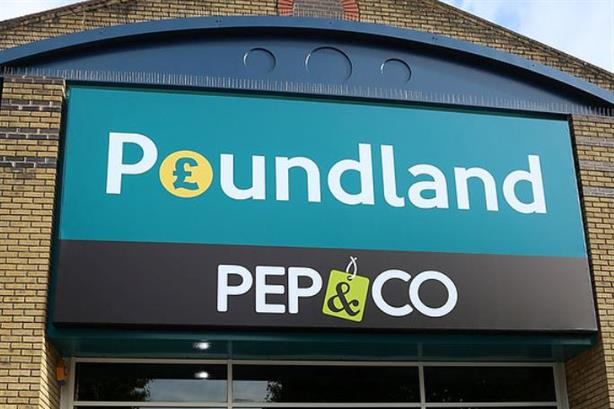 Sister brands Poundland and PEP&CO are owned by the Steinhoff group