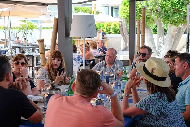 The first meeting of the PR Cannes Fringe