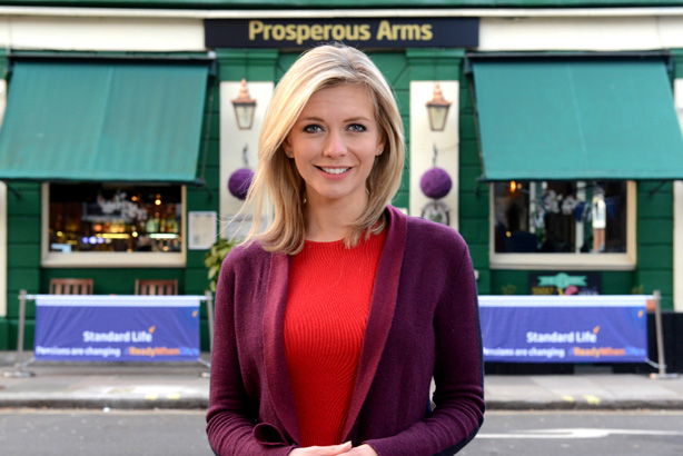 Rachel Riley: the Countdown presenter hosted pub quizzes around the country as part of the campaign