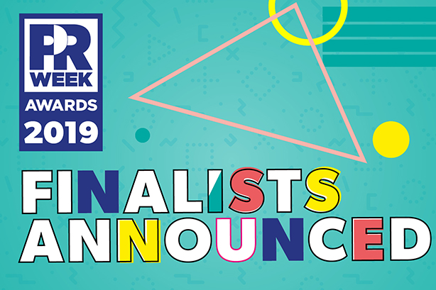 PRWeek U S  Awards 2019 Shortlist Revealed | PR Week