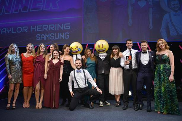 Winner: Taylor Herring won a PRWeek Award for its work with Samsung in 2017