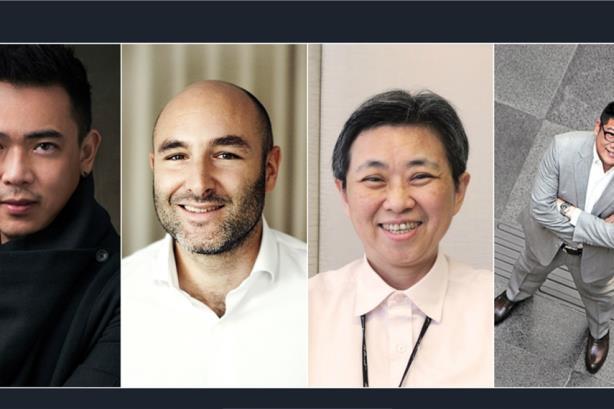 L-R: Michael Lee, David Gompel, Margaret Huang, Danny Mok