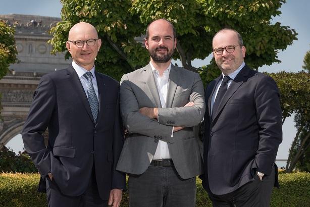Key figures (L-R): Arnaud, Léonarduzzi and Zunz