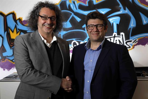 Wildcard founder Georg Reckenthaler (left) with Ranieri group MD Pietro Ranieri