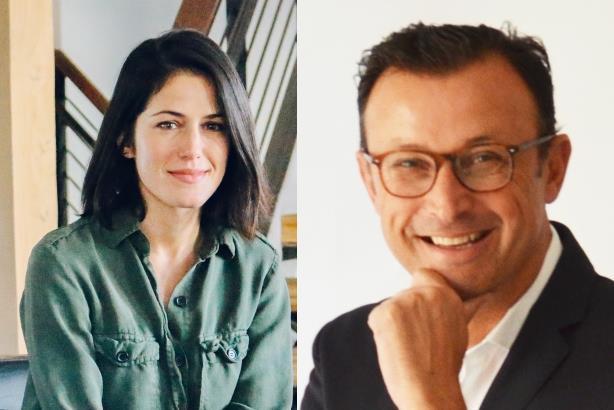 (CCRM CMO Constance Rapson and Havas Formula president Michael Olguin)